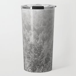 Mt Tamalpais in Shades of Gray Travel Mug