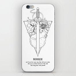 Plant Secrets: Rogue Class iPhone Skin