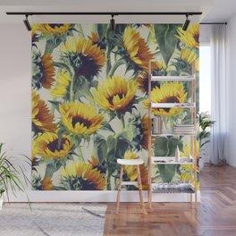 Sunflowers Forever Wall Mural