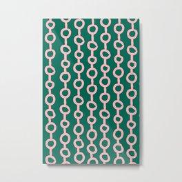 Spring Chain No 03 Metal Print