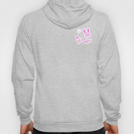 Gangster Bunny, Playful Pattern Hoody