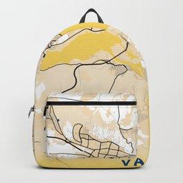 Varna Yellow City Map Backpack