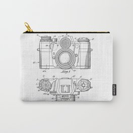 Camera Patent Drawing Carry-All Pouch