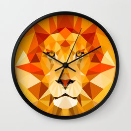 Lion, The King of the Jungle Wall Clock