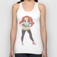 ginger Tank Tops featuring Ginger.  by A.S.M Designs
