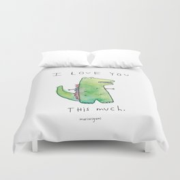 This Much Duvet Cover