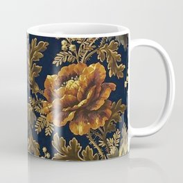 William Morris Poppy Textile Floral Tapestry Pattern Coffee Mug
