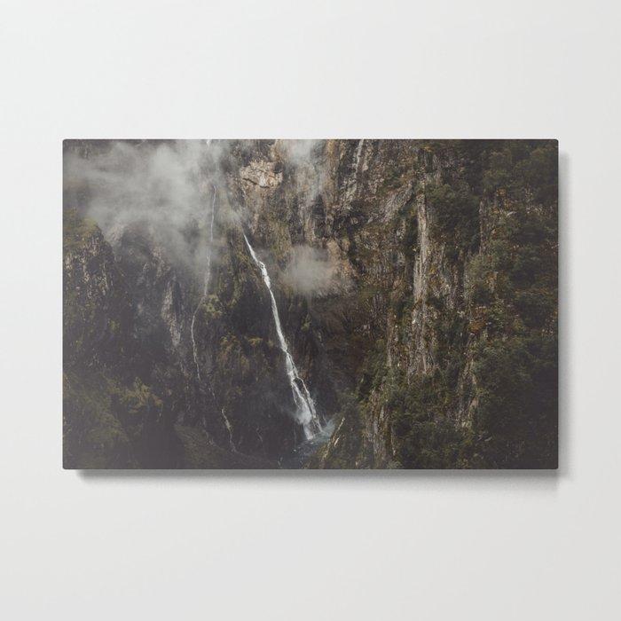 Voringfoss Metal Print