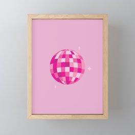 Disco Dreams Framed Mini Art Print