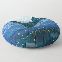 The Fisherman's Dream #2 Floor Pillow