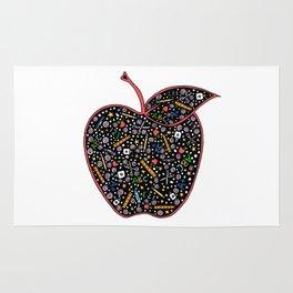 Teacher's Apple colour Rug