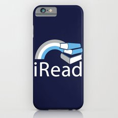 i Read | Book Nerd Slogan Slim Case iPhone 6s