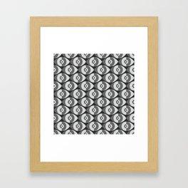Plaster Eyes Framed Art Print