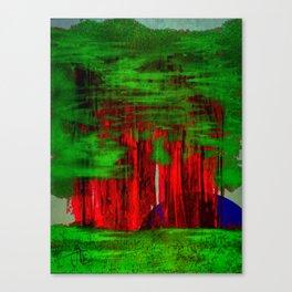 Redwoods Moonset Canvas Print