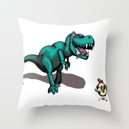 Why Did the Chicken Cross the Road? Part 1. Throw Pillow
