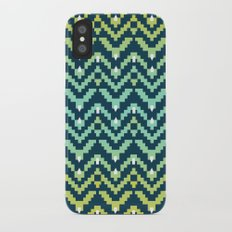 Tetra Ikat iPhone X Slim Case