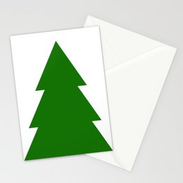 Minimal Christmas Tree Stationery Cards
