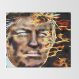Donald Trump Throw Blanket