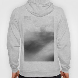 Abstract Foggy Landscape Hoody