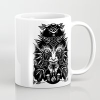 demon Mugs featuring Demon by MIRKOW GASTOW
