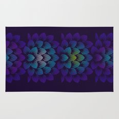 Variations on A Feather IV - Stars Aligned Rug