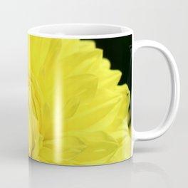 Glowing Yellow Dahlia Coffee Mug