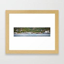 The Boatyard Framed Art Print