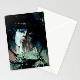 A mulher e o pensamento Stationery Cards