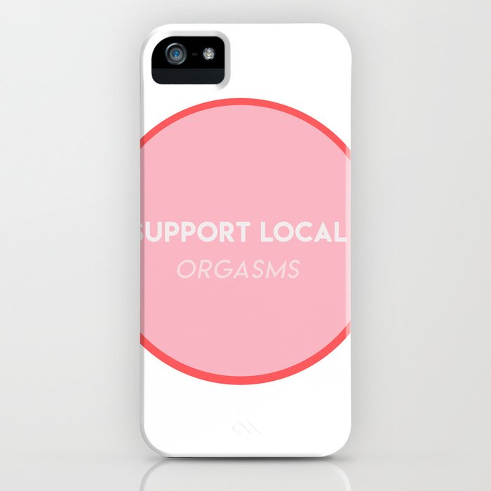 support local iPhone Case