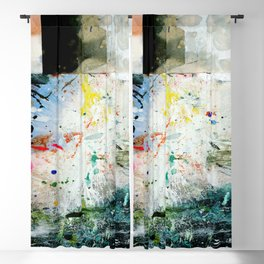 Abstract Dreams 2020-71 by Kathy Morton Stanion Blackout Curtain