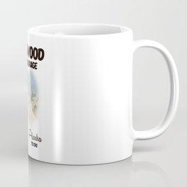 Girdwood anchorage Alaska ski poster Coffee Mug