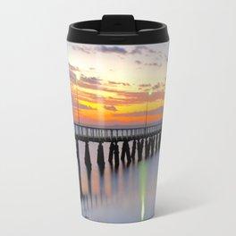 Wellington Point Jetty Sunrise Travel Mug