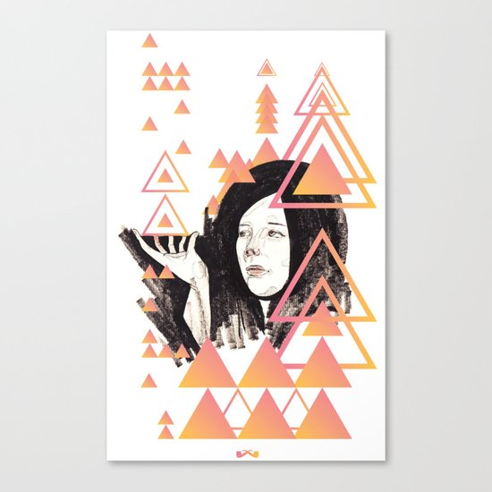 Noir Series 002. Canvas Print