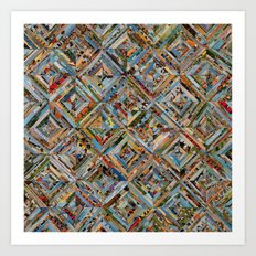 Texas Kaleidoscope Art Print