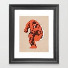 Thunderbolt Ross Framed Art Print