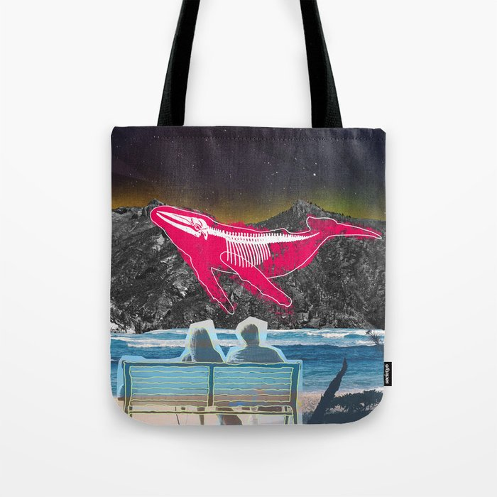 Golden View  Tote Bag