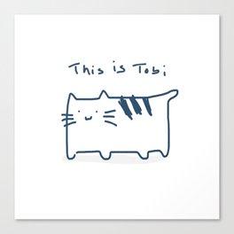 This is Tobi Canvas Print