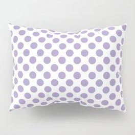 Lavender Small Polka Dots Pillow Sham