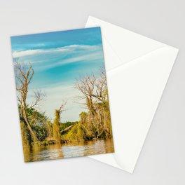 Parana River, San Nicolas, Argentina Stationery Cards