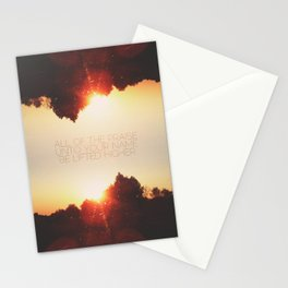 All of the Praise Stationery Cards