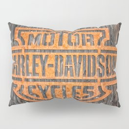 Passion for motorcycles, engines, street bikes Pillow Sham