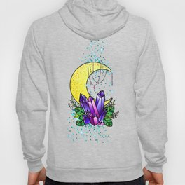 Mystical Crystals and Moon Hoody