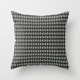 geo six-celadon Throw Pillow