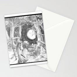 The Death Stationery Cards