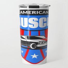 American Muscle Car Travel Mug