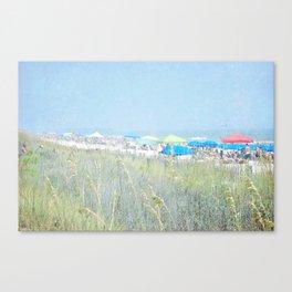 Surfside Beach Canvas Print