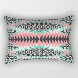 Tribal Beat Geo Pastel Rectangular Pillow