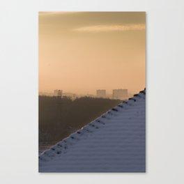 Suburban haze Canvas Print