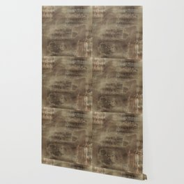 Sheet Music - Mixed Media Partiture #4 Wallpaper