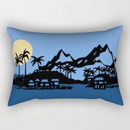 Southern Island Rectangular Pillow
